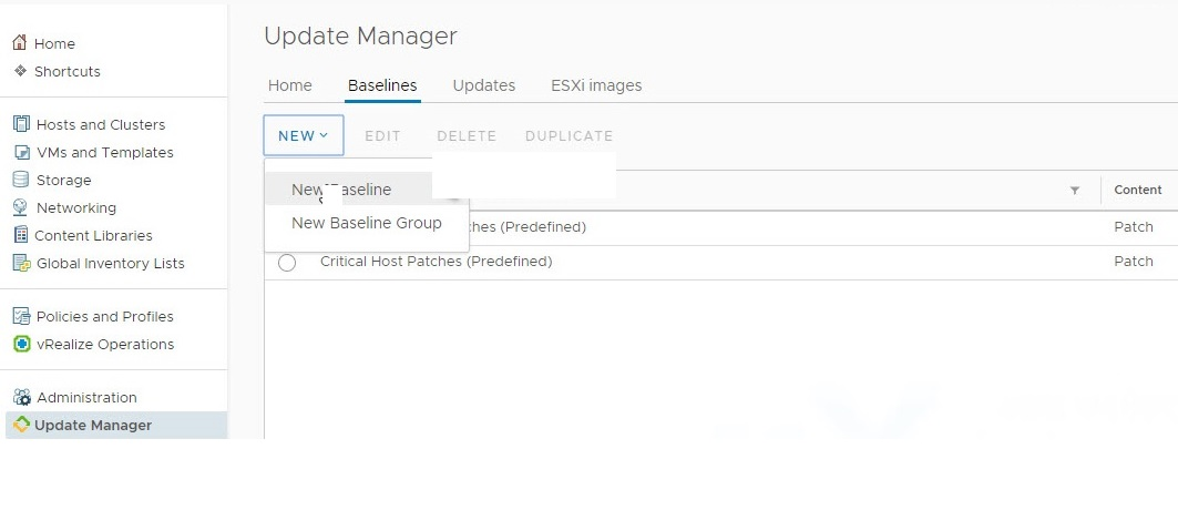 VSphere Update Manager (VUM) Version ESXi 6 0 – 6 7 Upgrade